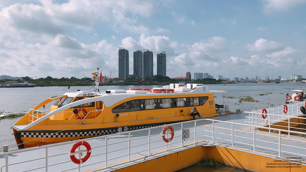 Trải nghiệm buýt sông Sài Gòn waterbus mùa dịch COVID-19 | An Vietnam